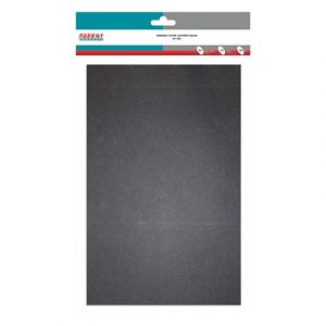 Binding Cover - Pack of 25 - Leather Grain A4 - BLACK - 150MIC