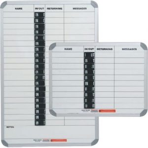 IN/OUT BOARD MAGNETIC 10 PEOPLE 600*450MM