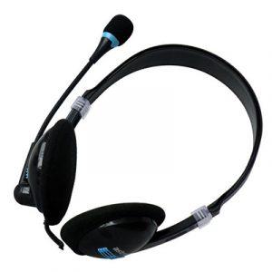 RAGA-CLASSIC STEREO HEADSET & MICROPHONE BLACK