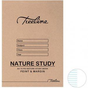 A4 72PG NATURE STUDY BOOK