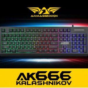 Armaggeddon AK-666 Kalashnikov Membrane Gaming Keyboard
