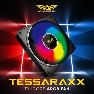 Armaggeddon Tesseraxx TX iCore 14 ARGB 14CM Fan