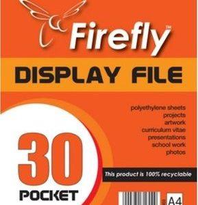 FIRE FLY FLIP FILE 30 POCKET
